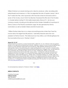 Shatner's World Press Release FINAL2